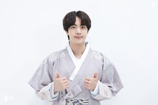 BTS, BTS gửi lời chúc fan nhân Trung thu, BTS mặc hanbok nhân Trung thu, bts
