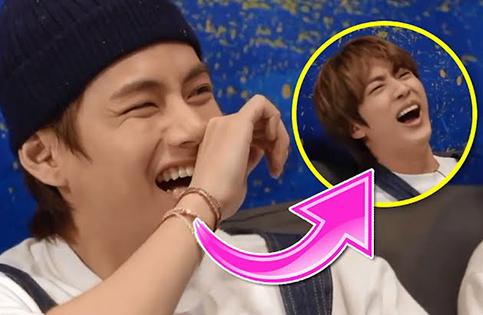 BTS: Jin cười chảy nước mắt khi nhìn thấy tác phẩm nghệ thuật 'bất thường' của V