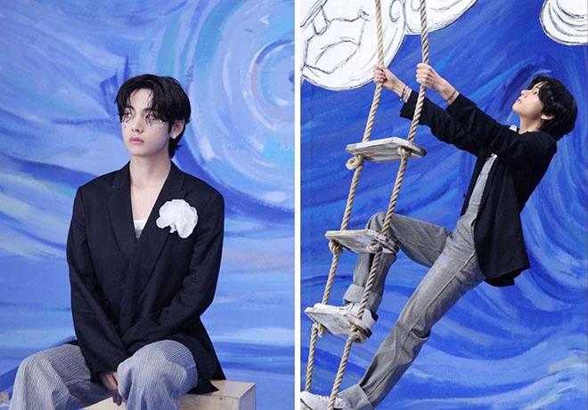 BTS, V BTS, Gương mặt tỷ lệ Vàng của V BTS thách thức họa sĩ, Jungkook, Suga
