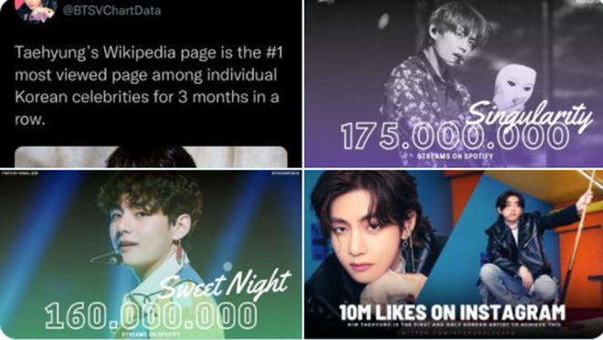 BTS, V BTS, Bài đăng 10 triệu like của V BTS trên Instagram, Kim Taehyung, RM