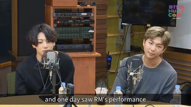 BTS, Jungkook, Thần tượng âm nhạc của Jungkook, RM BTS, Music Camp, MBC Radio