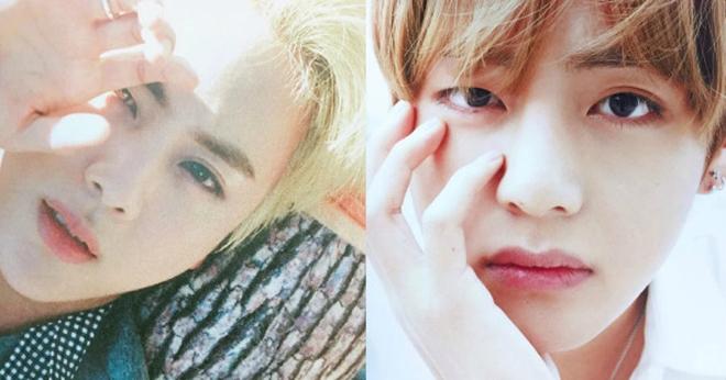 V BTS, Jin BTS, BTS, Jin V BTS giống nhau, Cá tính Jin V BTS, Gương mặt Jin V BTS
