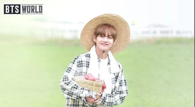 BTS, BTS World, Trò chơi BTS World, BTS World Game, BTS Game, bts game, BTS V, V BTS là nông dân, Kim Taehyung, Trò chơi BTS World, Netmarble, game bts, V bts, ảnh bts