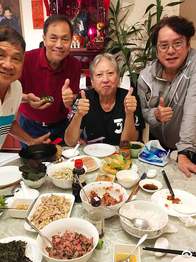 Hồng Kim Bảo, Sammo Hung, Hồng Kim Bảo gày tiều tụy, Alan Tam