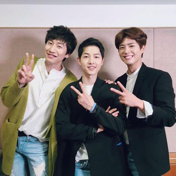 Bộ 3 thân thiết Lee Kwang Soo - Song Joong Ki - Park Bo Gum tái hợp trong ngày đại