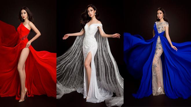 Vì sao Hoa hậu Đỗ Mỹ Linh chuộng váy khoe chân tại Hoa hậu Thế giới 2017