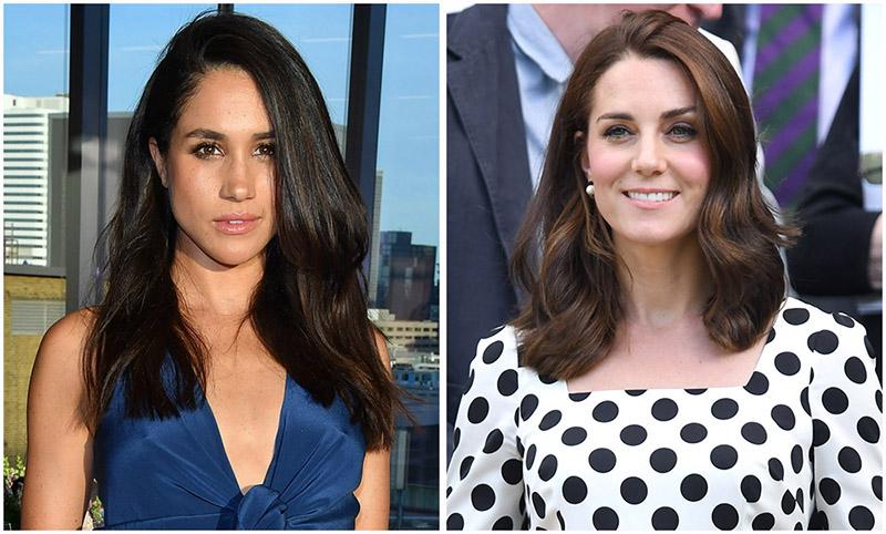 Công chúng kỳ vọng nàng dâu tương lai Meghan Markle sẽ học tập được gu thời trang đẳng cấp của chị dâu Kate Middleton