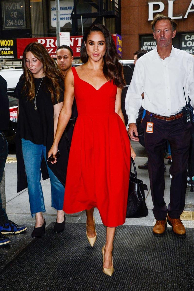 Meghan Markle tỏa sáng khi tham dự Today Show tại New York