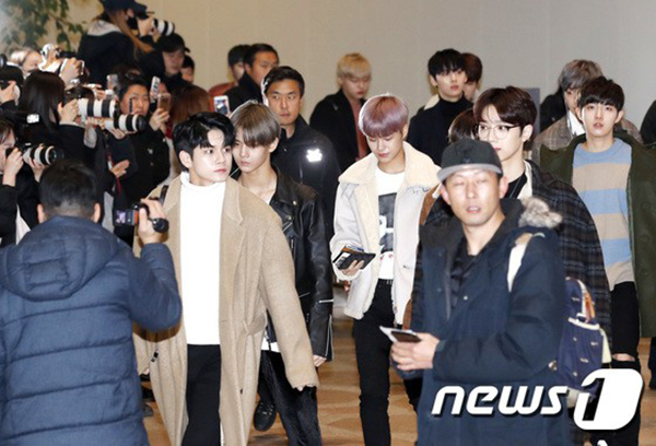 Các thành viên Wanna One