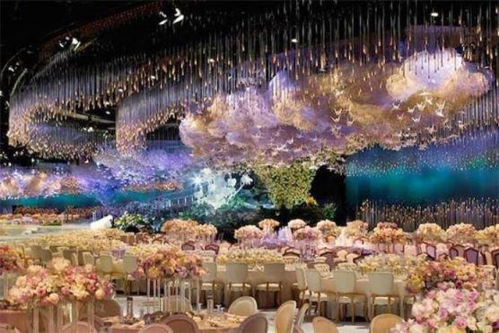 Những đám cưới bước ra từ trong truyện cổ tích