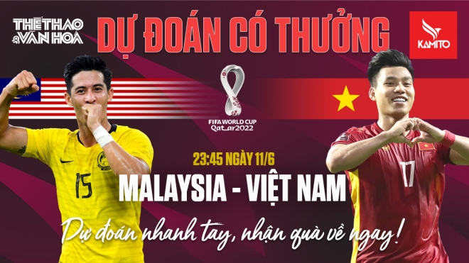Dự đoán Vòng loại World Cup 2022: Trận Malaysia vs Việt Nam