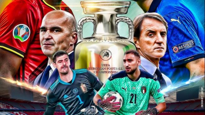 Dự đoán Vòng Tứ kết EURO 2020: Trận Bỉ vs Italia