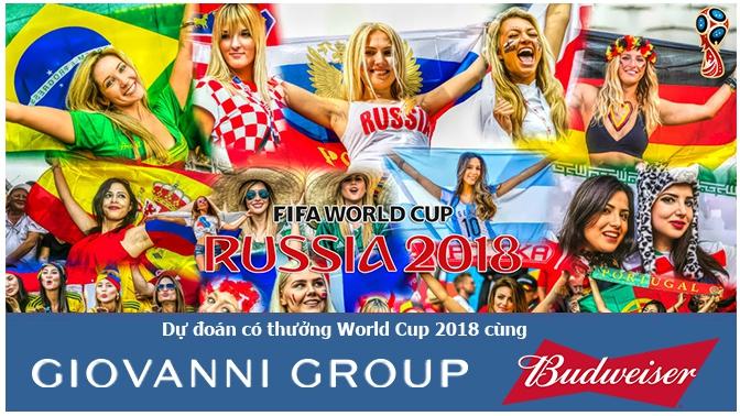 Kết quả dự đoán có thưởng loạt trận vòng Bán kết World Cup 2018