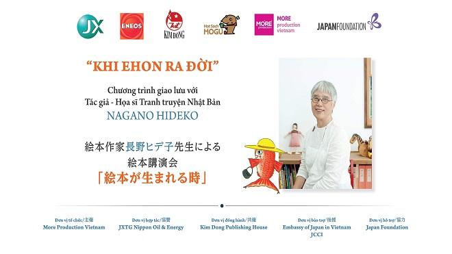 Giao lưu với tác giả, họa sĩ tranh truyện Nhật Bản Nagano Hideko tại Hà Nội