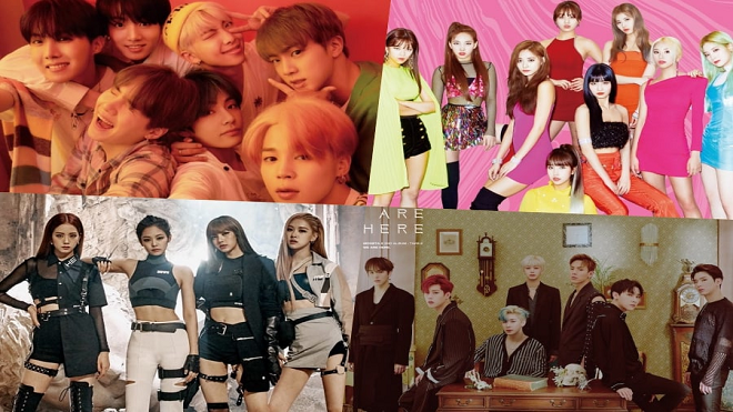Blackpink  BTS  BTS Boy With Luv  blackpink  BTS MTV VMA 2019  Bts