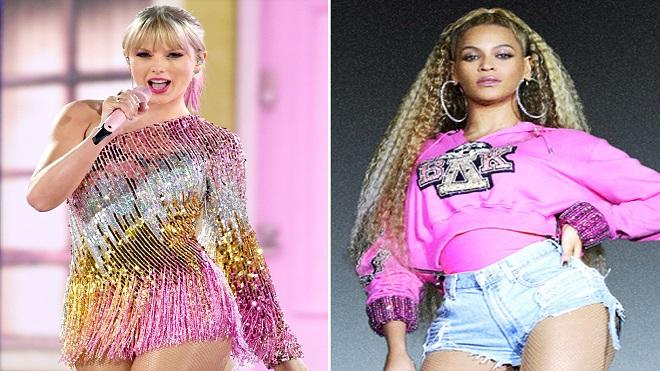 Taylor Swift, Beyonce, top 10 ca sĩ được trả lương cao nhất, Taylor Swift dẫn đầu Top10 nữ ca sĩ được trả lương cao nhất