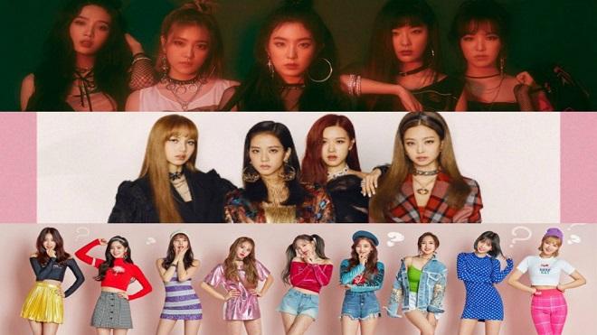 BXH thương hiệu nhóm nữ tháng 9: Red Velvet, Blackpink và Twice chia nhau thống trị Top 3