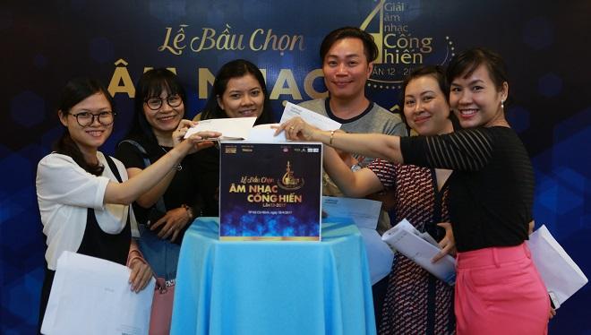 Giải Âm nhạc Cống hiến lần 12 - 2017: Nhà báo Hà Nội khó chọn nhất ở hạng mục nào?