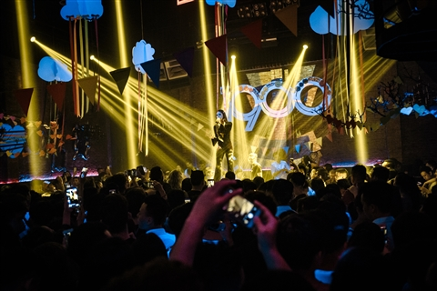 Rất đông khán giả đã đến nghe Hương Giang Idol