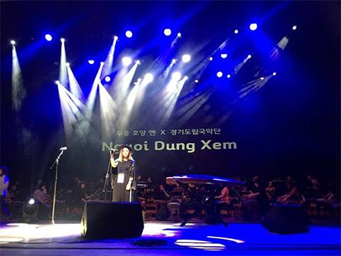 """Và """"Người đứng xem"""" tại Asia Song Festival"""