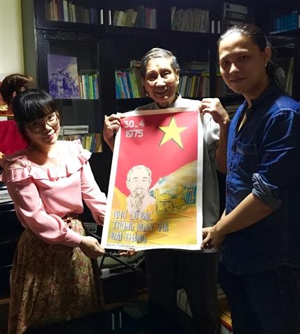 Opera Việt Dung, nhạc sĩ Phạm Tuyên và violon Trần Anh Tú