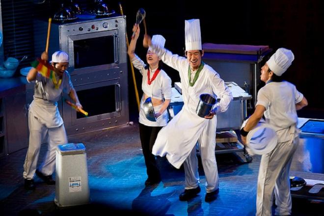 Nanta show cũng đã từng có buổi biểu diễn tại Việt Nam năm 2012, nhân kỷ niệm 20 năm thiết lập quan hệ ngoại giao Việt Nam - Hàn Quốc.