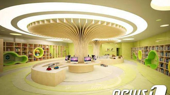 Lần đầu tiên thiếu nhi Việt Nam có một thư viện văn hóa riêng