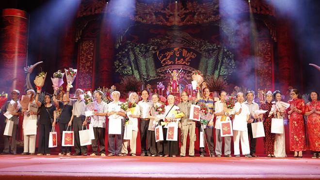 Lễ giỗ tổ nghề sân khấu 2017 đã kết thúc
