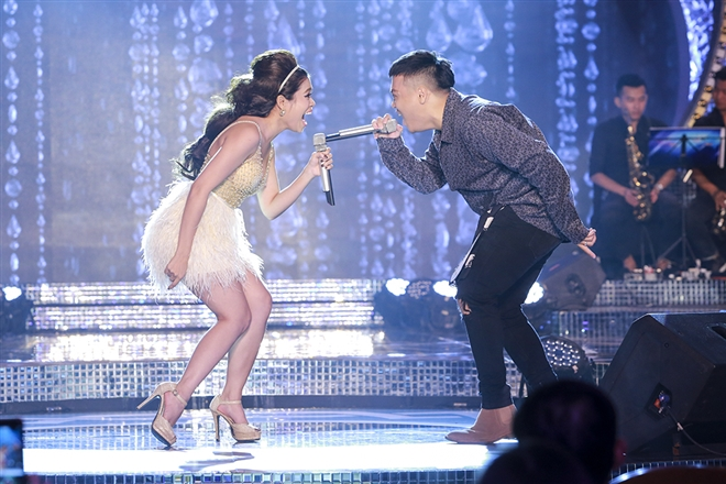 sáng tác của chính cô - ca khúc Say cùng Rapper Tobby Quốc Trung