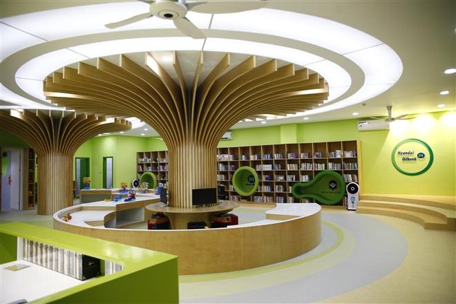 Không gian đọc sách