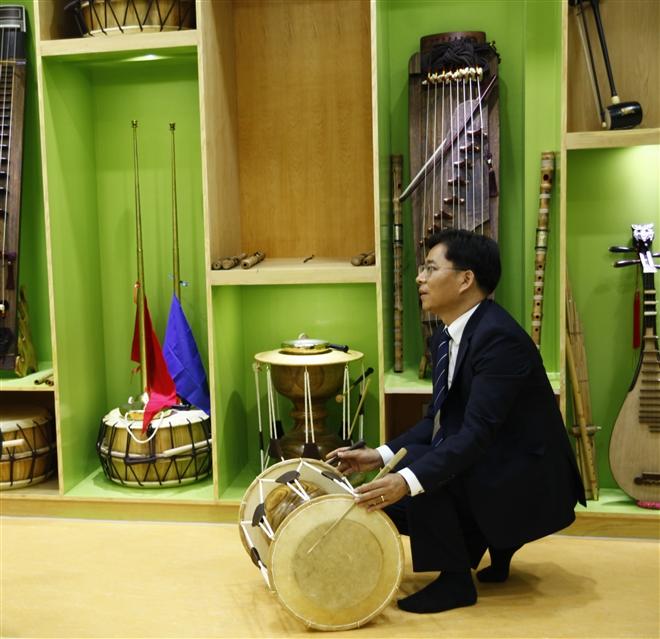 ông Yoon Kwang Shik - Tổng thư ký Quỹ văn hóa Quốc tế Hàn Quốc (ICF)