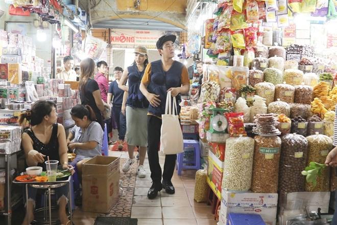Kỳ Duyên -  Hứa Vỹ Văn đi chợ mua nguyên liệu