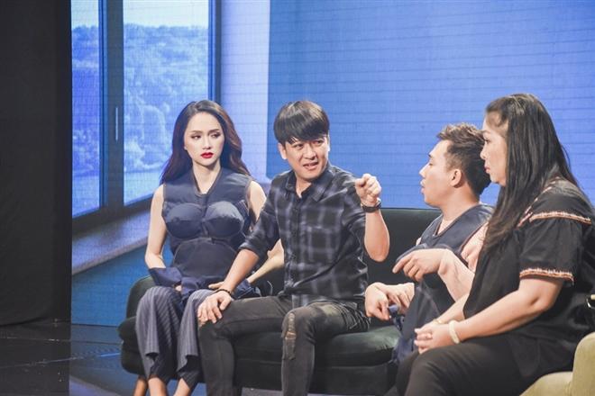 Đỉnh cao diễn xuất trong phần thử thách tình huống của Hương Giang được các nghệ sĩ ghi nhận