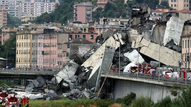 Vụ sập cầu cạn tại Italy: Vẫn còn khoảng 10-20 người bị mất tích