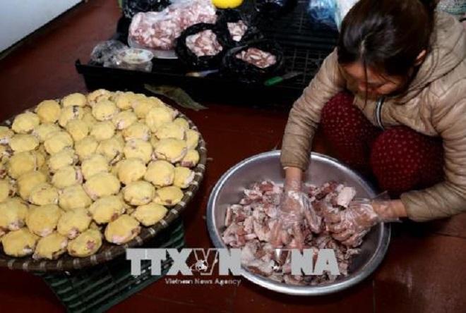 Bánh chưng Tranh Khúc, huyện Thanh Trì