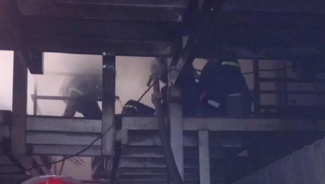 Cháy lớn tại một công ty hóa chất ở Thành phố Hồ Chí Minh