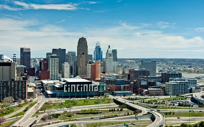 Thành phố Cincinnati - nơi xảy ra sự việc