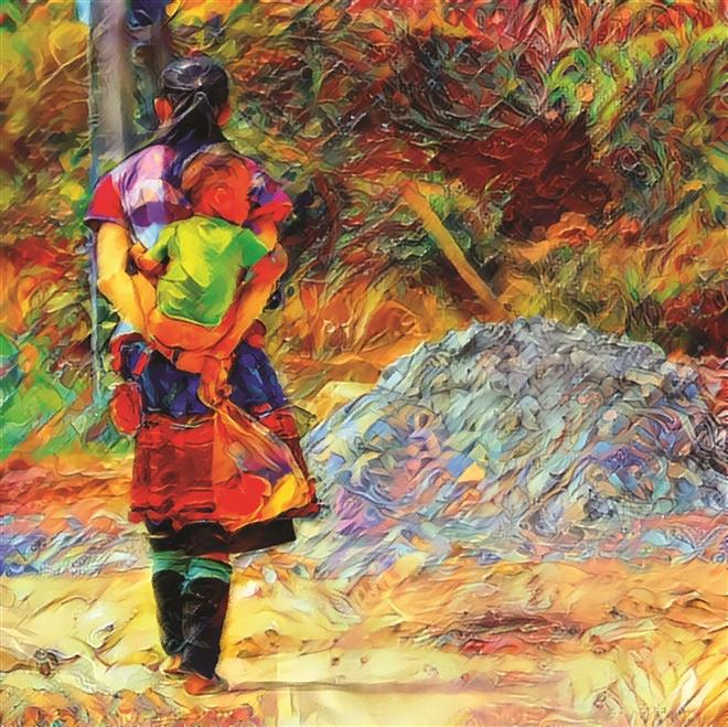 Tác phẩm Chị gái của Nguyễn Long Vũ