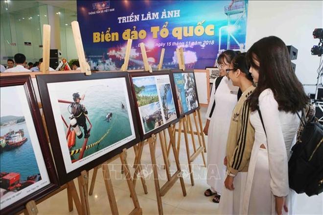 Sinh viên Đà Nẵng tham quan triển lãm