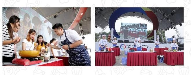 Như thường niên, các lớp học nấu ăn Việt - Hàn, các trò chơi, cuộc thi bốc thăm trúng thưởng với nhiều phần quà có giá trị sẽ diễn ra tại lễ hội.