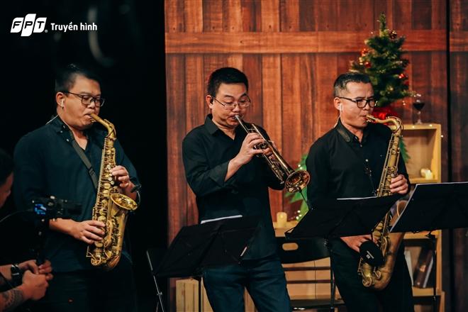 Dàn kèn của nhạc sĩ Hồng Kiên
