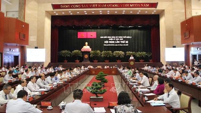 Đại tá Nguyễn Trường Thắng tham gia Ban Thường vụ Thành ủy Thành phố Hồ Chí Minh nhiệm kỳ 2015 – 2020