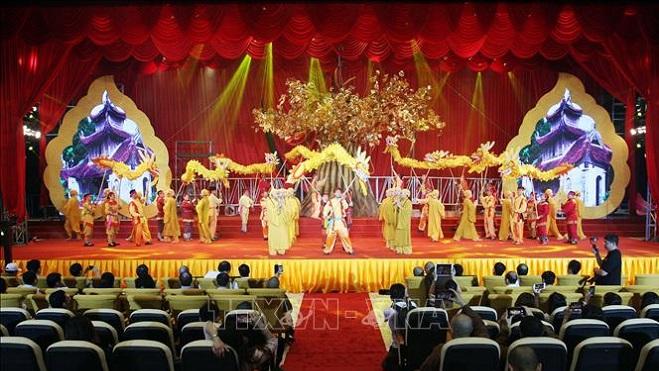 Chủ tịch Quốc hội Nguyễn Thị Kim Ngân chủ trì Tiệc chiêu đãi các đại biểu tham dự Đại lễ Vesak Liên hợp quốc lần thứ 16 tại Việt Nam