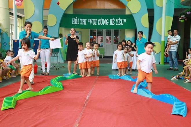 Một trường mầm non chất lượng cao ở Đà Nẵng