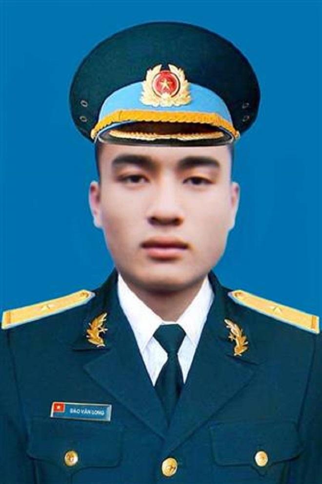 Thiếu úy Đào Văn Long