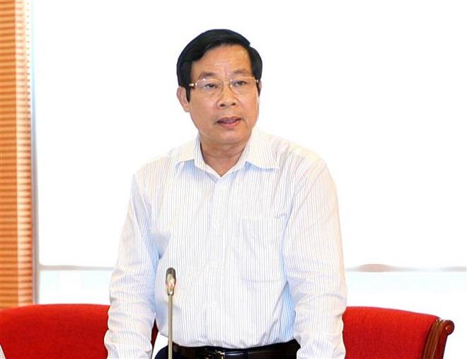Trong ảnh: Nguyên Bộ trưởng Bộ Thông tin và Truyền thông Nguyễn Bắc Son. Ảnh: TTXVN