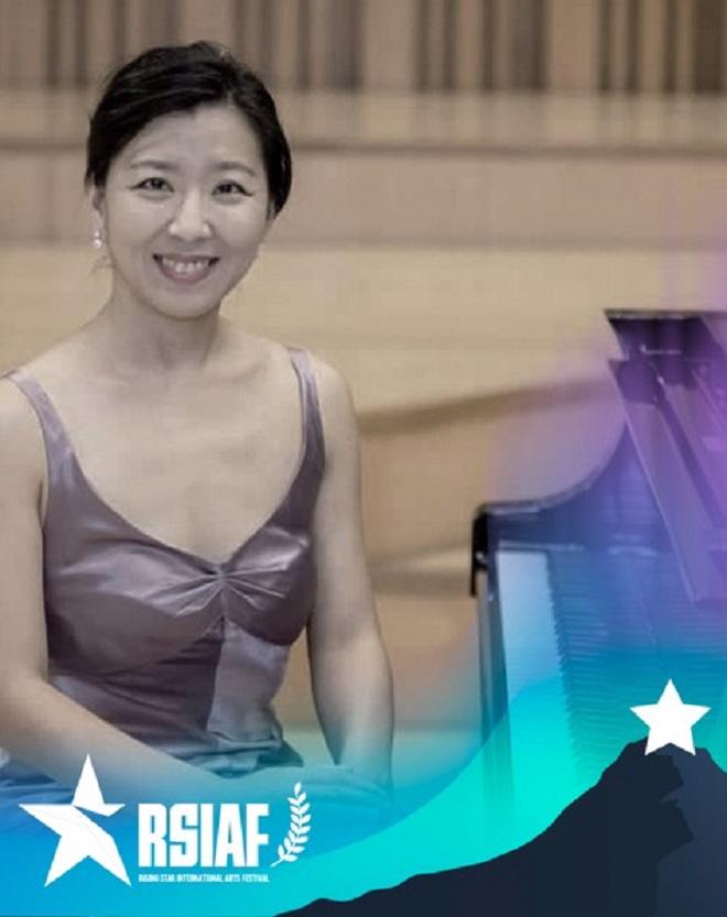 Nghệ sĩ piano Bo Kyung Lee - một trong các giám khảo của cuộc thi
