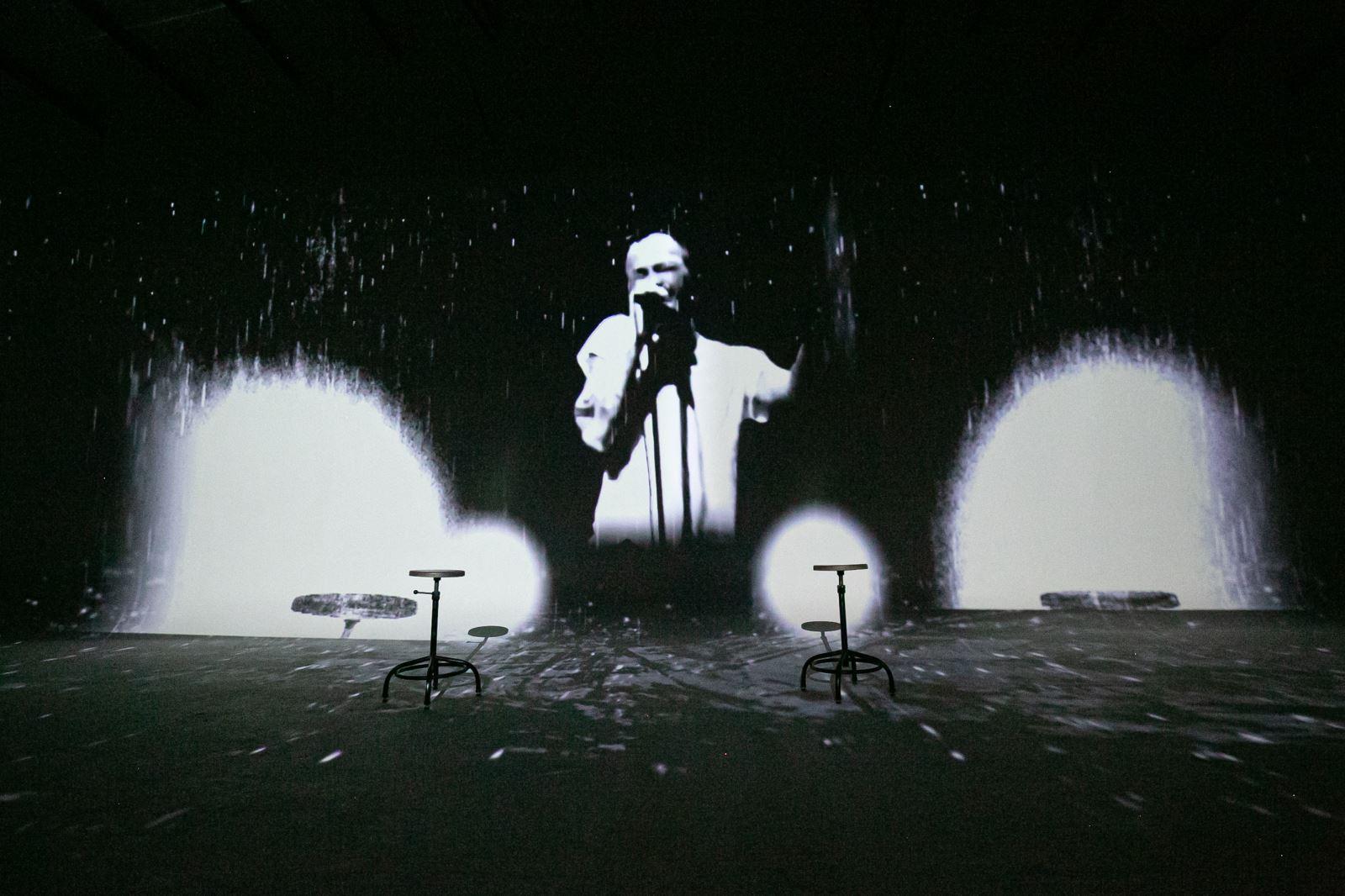 Hình ảnh nghệ sĩ Trần Lập được phục dựng trong MV