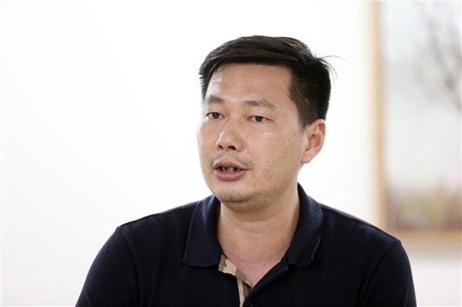 Trong ảnh: Ông Nguyễn Văn Bình, đơn vị Tư vấn giám sát Coninco phát biểu tại cuộc họp Đánh giá nghiên cứu. Ảnh: Anh Tuấn – TTXVN