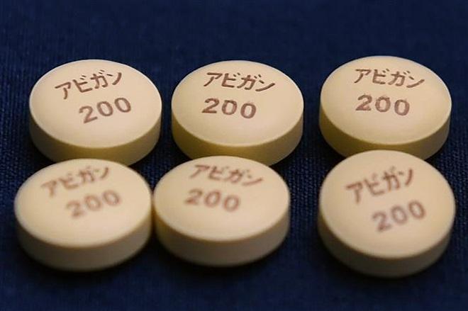 Thuốc kháng virus Avigan được sản xuất bởi tập đoàn Fujifilm của Nhật Bản. Ảnh: AFP/TTXVN